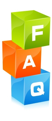 Image of three childrens play bricks stacked with the letters F, A & Q